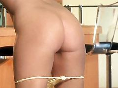 Veronica Ricci satisfies her sexual needs and desires alone in solo scene