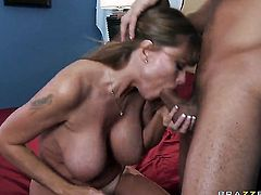 Danny Mountain makes With juicy breasts scream and shout with his stiff worm in her booty