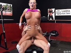 Johnny Sins explores the depth of ultra hot Nikita Von Jamess wet fuck hole with his man meat