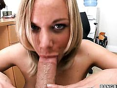 Kate Frost believes that fresh cum gives her sexual energy