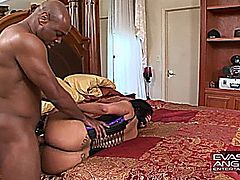 Ebony MILF Monica Stone Booty Clappin' and Getting Fucked