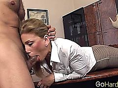 Brooklyn Lee Brooklyn got her qualifications right here secretary,pornstar,blowjob,blonde,office,boss
