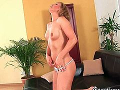 Grannies Brandy, Valencia and Nina pound their pussy with a dildo for a much needed orgasm.See how these all lovely and busty grannies strips off for fucking themselves with big dildos.