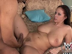 Gianna Michaels gets down on all fours and takes a deep, hard pounding.
