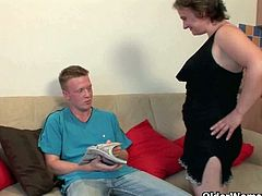 Romana and Eva are two European grannies who like young cocks and the nectar that comes out of young cocks. They ride two different boys and claim their spunk.