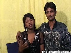 Sita is a brunette Indian amateur. She teams up with Robby to make an amateur video of him playing with her tits. He makes her moan when he uses cream on her boobs.