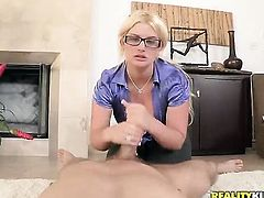 Erik Everhard is horny as hell and cant wait no more to screw naughty Julie Cashs fuck hole