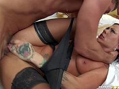 Pale skinned blonde Chloe Foster with bubble butt and smooth pussy shows her assets and gets her asshole stretched by asian lesbian diva Dana Vespoli. She gets her butthole fingered and toy fucked!