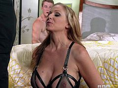 Charming MILF Julia Ann is cock hungry again!