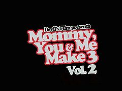 Mommy you and me make 3 vol 2. Featuring India Summer, Alison Tyler, Totally Tabitha, Aubrey Adams, Kiara Mia, Ashli Ames, Vicky Vixen, Vanessa Cage. Great threesome ffm!