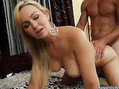 Abbey Brooks with bubbly butt getting hardcored by hard dicked fuck buddy Johnny Castle