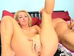 Naughty porn hot chick Aaliyah Love gets fucked hard doggystyle