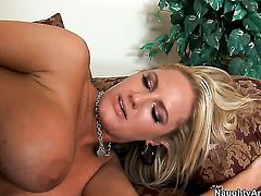 Christian gets seduced by With massive hooters and then fucks her vagina