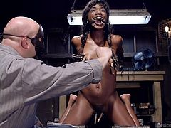 sgt. major gets rough with ana fox