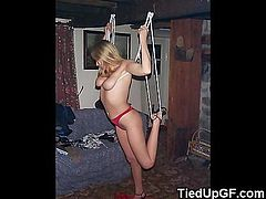 Tied Up GFs Get Humiliated!