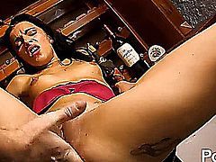 Drunk french babe gives up her tight ass - Jordanne Kali