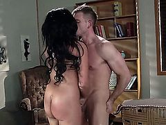 Rough sex with big boobed exotic MILF Rio Lee