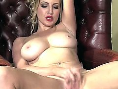 Pussy fingering by the fireplace with Georgie Lyall