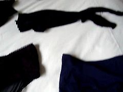 a small display of my assortment of panties, etc