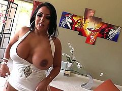 Kiara Mia takes Lexington Steele's big black dick from your POV