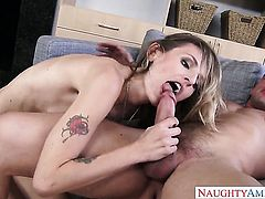 Natasha Starr knows no limits when it comes to fucking with hard dicked fuck buddy Johnny Castle