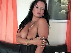 Older Woman Fun brings you a hell of a free porn video where you can see how these BBW brunette and redhead milfs dildo their cunts while assuming hot positions.