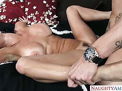 Clover pounds amazing Veronica Avluvs pussy hole in every sex positon