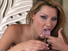 Compilation of porn stars getting a mouth full of hot jizz