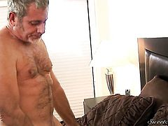 Nicole Ray is in sexual ecstasy with hard dicked guy James Deen