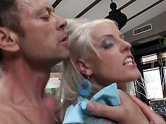 Rocco Siffredi has fantastic anal sex with Samia Duarte after throat job