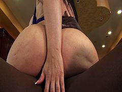 Busty Daphne Rosen rides on monster black cock on the couch. This horny momma  enjoys sharing her interracial affairs and how she manages huge tools deep inside her wet pussy slit.