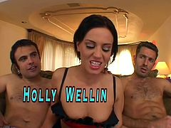 Holly Wellin, Hot Blonde Taking Nasty Anal