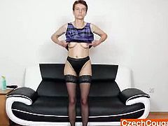 Good-looking Rozi babes hole gets filled up. Orgastic mom babes juicy pussy can barely take any more of the hardcore action but she continues