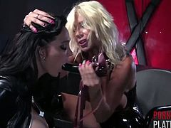 Puma Swede Straps it on for Amy Anderssen