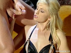 Cum into Bobbi's garden of Eden and taste her delicious delights...These super hot blondes love cock and they will get all holes fucked in this super hot and steamy hardcore sex video where there's DP penetration and more!