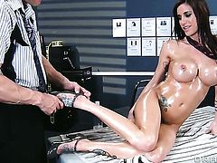 Gia Dimarco is good at fucking and her hot bang buddy Johnny Sins knows it