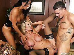 Lezley Zen just loves to fuck and cant say No to her hot fuck buddy Clover