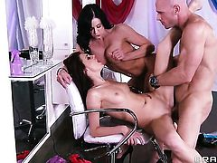 Unthinkably hot cutie Kendra Lust opens her love box to take Johnny Sins s cock