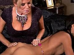 AMia Moretti Sharing the long ramrod about her cutie