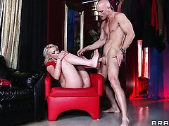 Johnny Sins gets pleasure from fucking Zoey Paige in her vagina