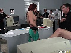 Mick Blue fucks Monique Alexander as hard as possible in anal sex action