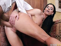 Danny D is horny and cant wait no more to bang unthinkably hot India Summers mouth