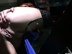 Clover gives delicious Kelly Divines mouth a try in oral action after she takes it in her cornhole