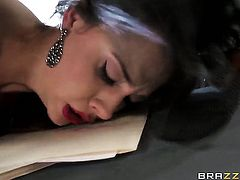 Johnny Sins bangs fuck hungry Chanel Prestons pussy hole in every sex positon
