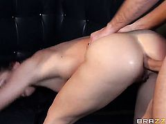 Mischa Brooks getting anal satisfaction with hard cocked fuck buddy Keiran Lee