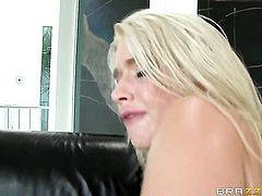 Anikka Albrite finds her love hole so wet after giving headjob to Keiran Lee after anal fun