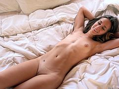 Sexy babe is all about to play with her bestie and she gets naked, to play it well. Watch this amazing babe fingering her wet twat and tasting her juice. Her BFF grabs those tight bubble butt and play with it a bit, before fingering and filming her hot body, which will give you a big boner for sure!