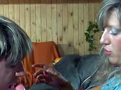 Dissolute Strapon x-rated video presented by Strapon Screen