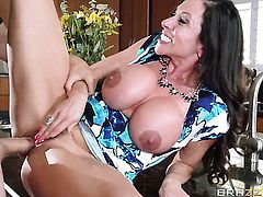Ariella Ferrera cant stop fucking in crazy hardcore action with hard cocked fuck buddy Tyler Nixon