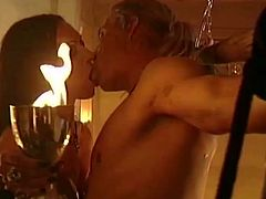 Visit official Magma Film HD's HomepageSleazy milf amazes her guy with her nasty desires, dominating him in pretty harsh manners until making the guy cum